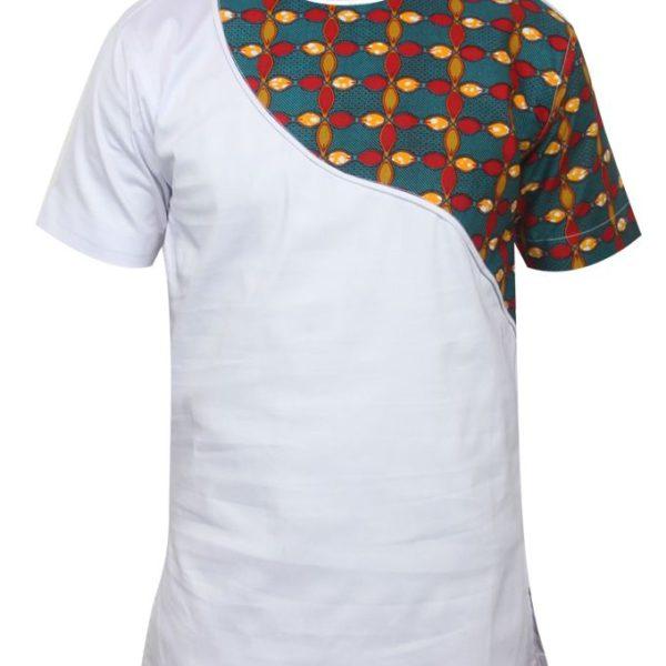 Creativeline African Print Short Sleeve Shirt – Multicolour ...